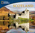Scotland: National Geographic 2013 Wall Calendar Cover