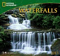 Waterfalls: National Geographic 2013 Wall Calendar Cover