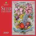 Seed Catalogues: Smithsonian Institute 2013 Wall Calendar Cover