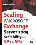 Microsoft Exchange Server 2003 Scalability with Sp1 and Sp2 (HP Technologies)