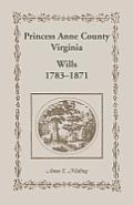 Princess Anne County, Virginia, Wills, 1783-1871