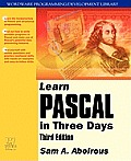 Learn Pascal in Three Days with CDROM