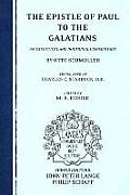 The Epistle of Paul to the Galatians: An Exegetical and Doctrinal Commentary