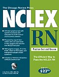 Chicago Review Press NCLEX RN Practice Test & Review With CD ROM