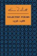 Selected Poems 1938 1988