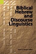 Biblical Hebrew and Discourse...