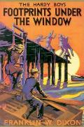 Hardy Boys #012: Footprints Under the Window Cover
