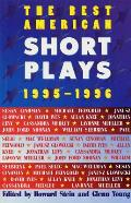 The Best American Short Plays 1995-1996 (Best American Short Plays) Cover