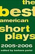 Best American Short Plays 2005 2006