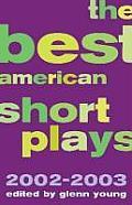 Best American Short Plays 2002 2003 Hardcover