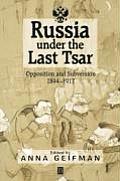 Russia Uner the Last Tsar Paper