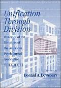 Histories of the Divisions of the American Psychological Association: Volume II