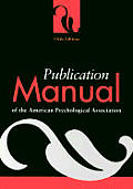 Publication Manual of the American Psychological Association Cover