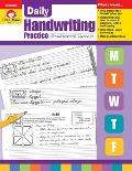Daily Handwriting Practice Traditional Cursive All Grades