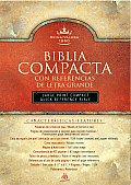 Biblia Compacta Con Referencias: Large Print Compact Quick Reference Bible