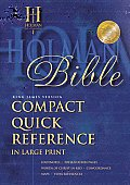 Bible Kjv Compact Quick Reference Large