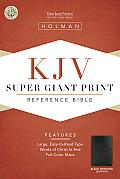 Bible KJV Super Giant Print Reference