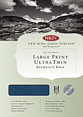 Ultrathin Large Print Reference Bible-NKJV
