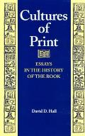 Cultures of Print (Studies in Print Culture and the History of the Book) Cover