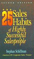 25 Sales Habits Of Highly Successful Sal