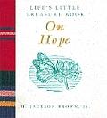 Lifes Little Treasure Book On Hope