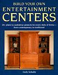 Build Your Own Entertainment Centers Cover