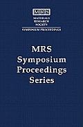 Polycrystalline Thin Films -- Structure, Texture, Properties III: Volume 472
