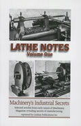 Lathe Notes Volume 1