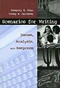 Scenarios for Writing: Issues Analysis and Response