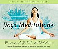 Yoga Masters Meditations Audio Cd Set