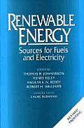 Renewable Energy: Sources for Fuels and Electricity