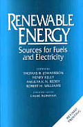 Renewable Energy Sources for Fuels & Electricity