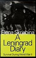 A Leningrad Diary: Survival During World War II (Large Print)