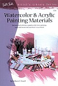 Artist's Library #0018: Watercolor and Acrylic Painting Materials Cover