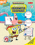 Watch Me Draw Spongebobs Underwater Escapades With Stickers & Drawing Pad