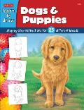 Dogs & Puppies Draw & Color
