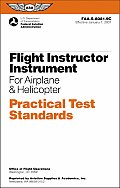 Flight Instructor Instrument for Airplane & Helicopter Practical Test Standards FAA S 8081 9C
