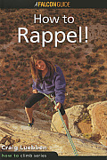 Rappelling (Falcon Guides How to Climb) Cover