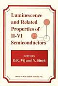 Luminescence & Related Properties Of 2 6