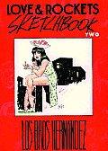 Love & Rockets Sketchbook Volume 2