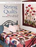 String Quilts: 10 Fun Patterns for Innovating and Renovating: A Scrap Quilt Book Cover