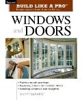Windows and Doors (Build Like a Pro)  Cover