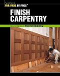 Finish Carpentry (For Pros/By Pros)