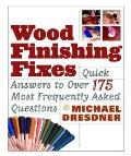 Wood Finishing Fixes: Quick Answers to Over 175 Most Frequently Asked Questions Cover