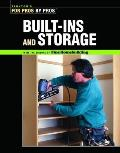 Built-Ins and Storage (Taunton's for Pros by Pros)