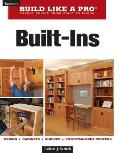 Built-Ins (Taunton's Build Like a Pro) Cover