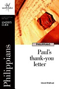 Philippians: Paul's Thank-You Letter
