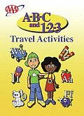 A B C & 1 2 3 Travel Coloring Book
