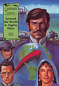 Around the World in Eighty Days (Illus. Classics) (Illustrated Classics) Cover