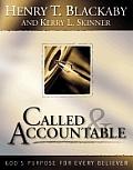 Called & Accountable Gods Purpose For Ev